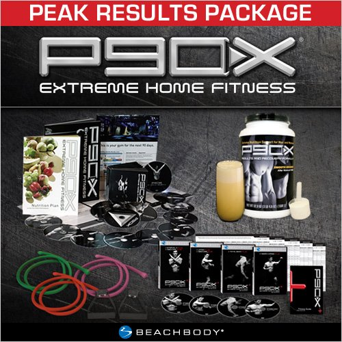 Accelerated Results Package By: P90X Peak Results Package: Tony Horton's 90-Day Extreme